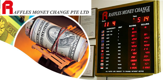 Raffles forex exchange